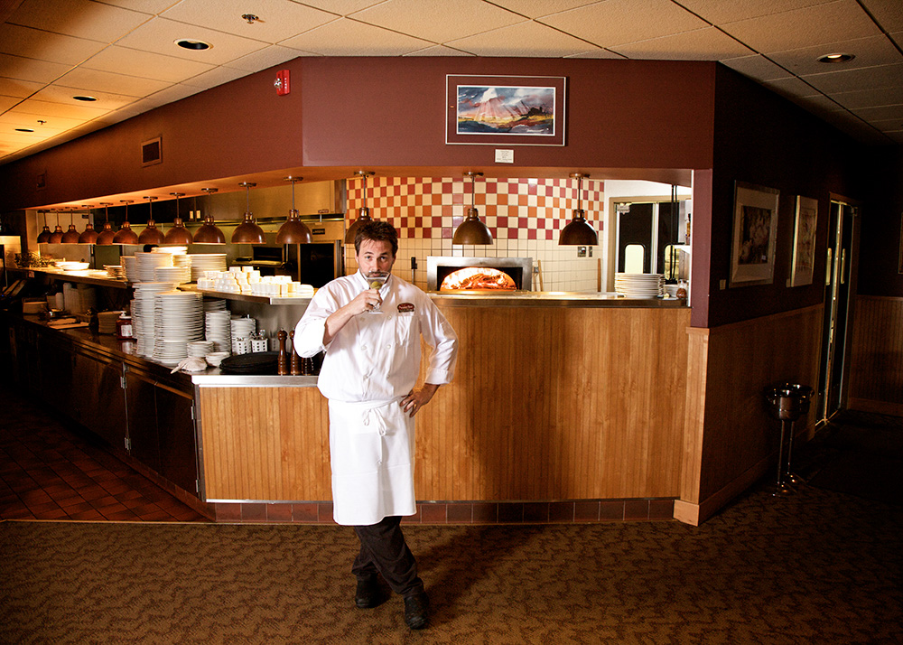 Matt Anand, chef, Prairie Bay Grill and Catering