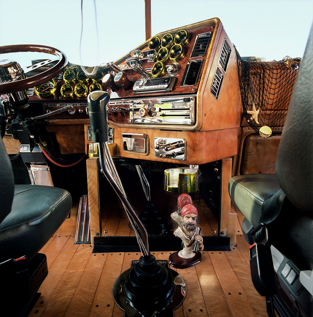 Cab of the Black Pearl